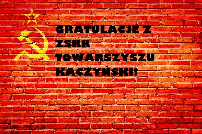 Krzysztof Skiba: Gratulacje z ZSRR…
