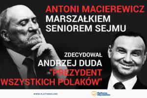 Stefan Niesiołowski: pisowcy idą po władzę i po Polskę. Na razie bez zahamowań