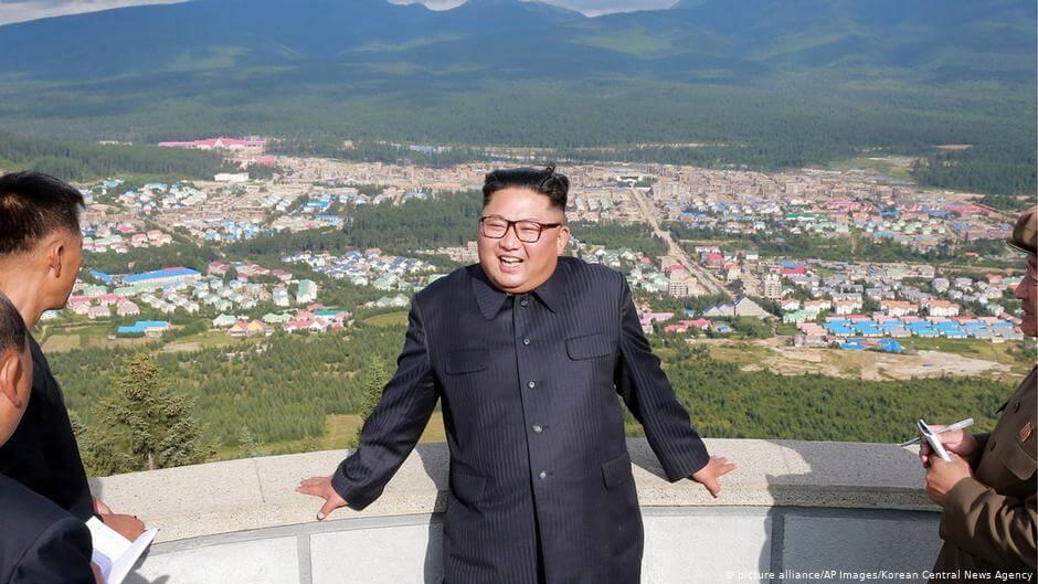 W sierpniu koreański przywódca wizytował region Samjiyo