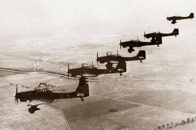 Junkers Ju 87 'Stuka' nad Polska. Wrzeień/październik 1939r.