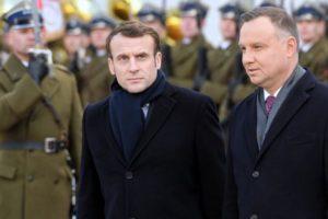 Emmanuel Macron w Polsce