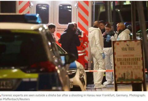 Niemcy. Strzelanina w Hanau. 11 ofiar śmiertelnych