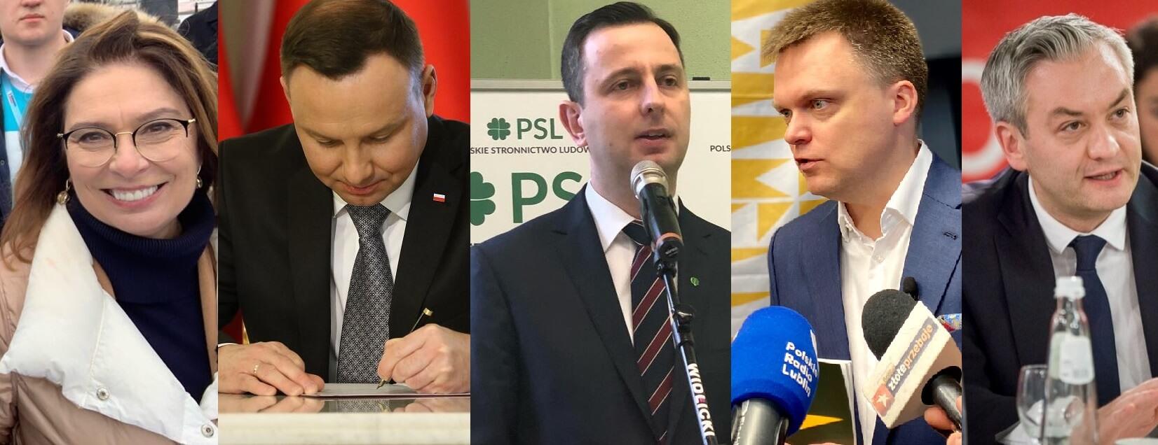Sondaż przedwyborczy. Andrzej Duda może przegrać aż z trzema konkurentami