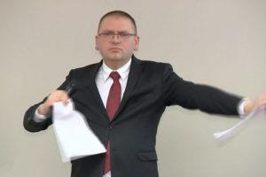 sędzia Nawacki. Prezes Sądu Rejonowego w Olsztynie