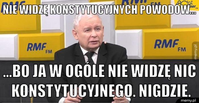 """Jarosław Kaczyński: """"najbardziej poszkodowany jest kandydat formacji rządzącej"""". """"Wybory powinny odbyć się 10 maja"""""""