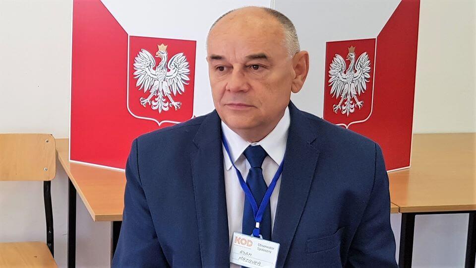 Adam Mazguła: Byłem obserwatorem wyborów w PiS-komisji