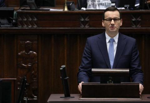 Perfidny argument Morawieckiego: to nie Polska, lecz unijny Trybunał Sprawiedliwości zagraża praworządności w Europie