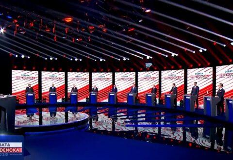 Manuela Gretkowska: Prowincjonalizm TVP był scenografią tego przedstawienia. Z takimi minami panowie oddają zbiorowo mocz. A my mamy oddać głosy…