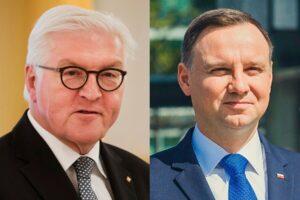 """Prezydent Niemiec napisał do Dudy: """"Daj znać, czy możemy coś zrobić dla Polski"""""""