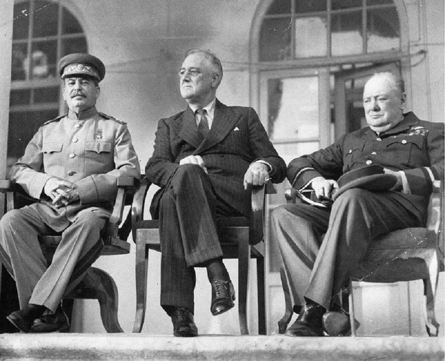 Konferencja teherańska (28 listopada 1943–1 grudnia 1943 roku w Teheranie) – spotkanie przywódców koalicji antyhitlerowskiej (tzw. wielkiej trójki): prezydenta USA Franklina Delano Roosevelta, premiera Wielkiej Brytanii Winstona Churchilla i przywódcy ZSRR Józefa Stalina.