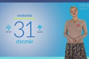 Prezenterka TVP zwolniona za wystąpienie na wizji z serduszkiem WOŚP