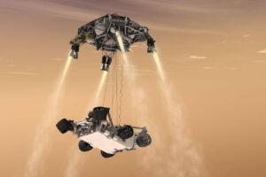 Łazik Perseverance wylądował na Marsie