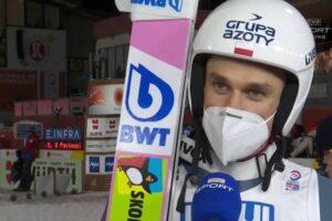 """Oberstdorf 2021. Piotr Żyła mistrzem świata! """"Trener coś tam gadał. Wylądowałem jak na mnie ładnie. Musiałem to wygrać"""""""