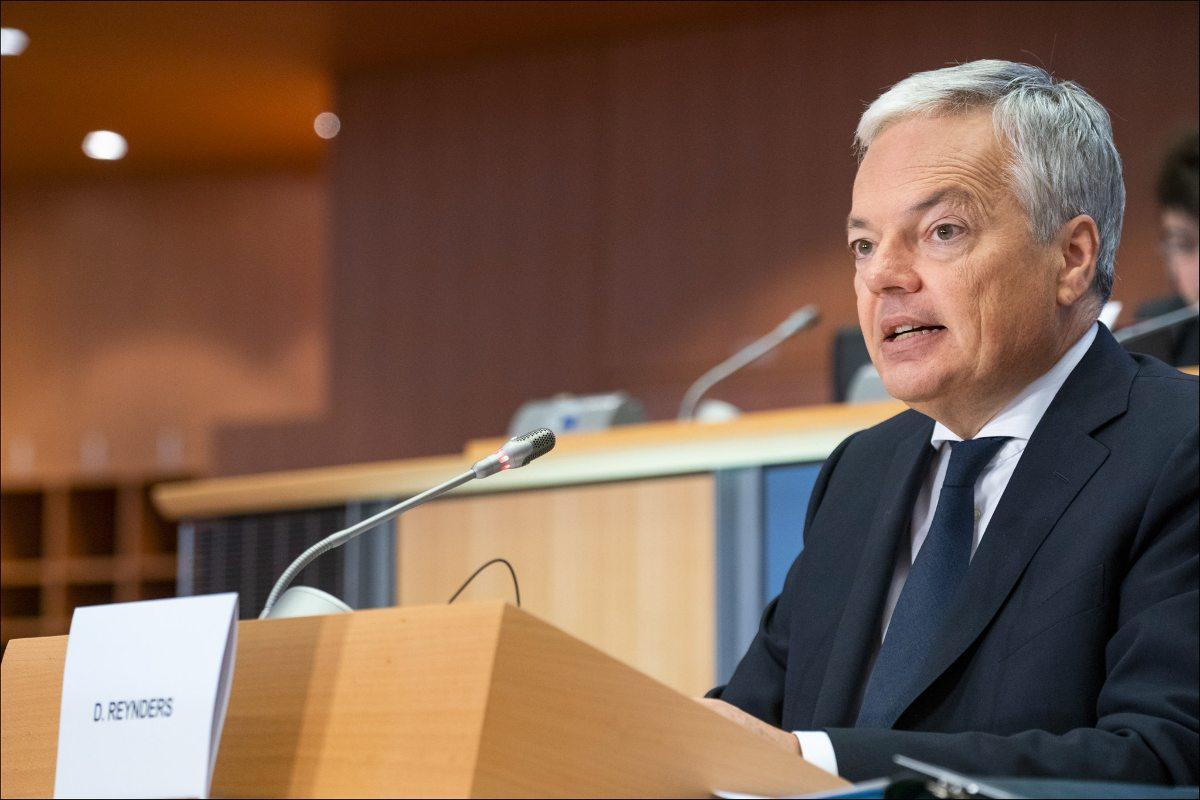 Didier Reynders. Zaostrza się spór Brukseli z Polską i Węgrami o praworządność
